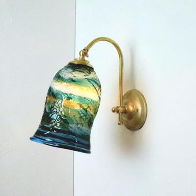 琉球ガラスブラケットランプ fc-w208-ryukyu7