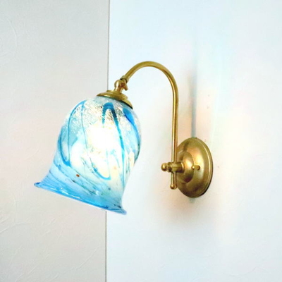 琉球ガラスブラケットランプ fc-w208-ryukyu2s