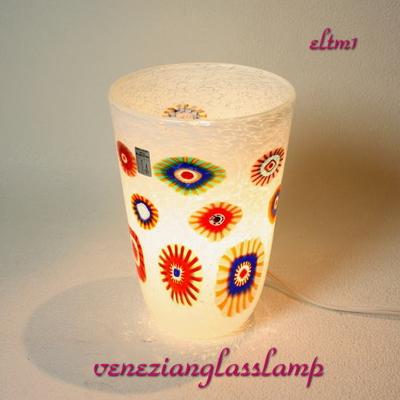 ベネチアングラステーブルランプ eltm1