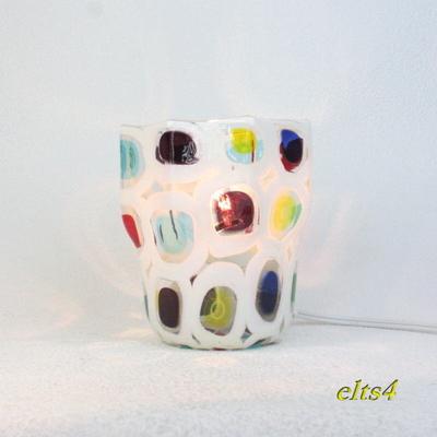 ベネチアングラステーブルランプ elts4
