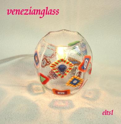 ベネチアングラステーブルランプ elts1