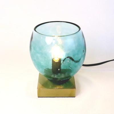 no9・Azzurro Glass Studioテーブルライト 034-frit-tourmaline-no9