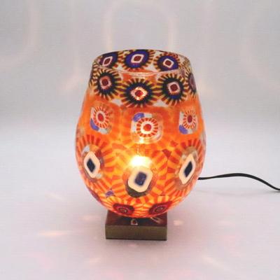 ベネチアングラステーブルランプ 034-ellm3