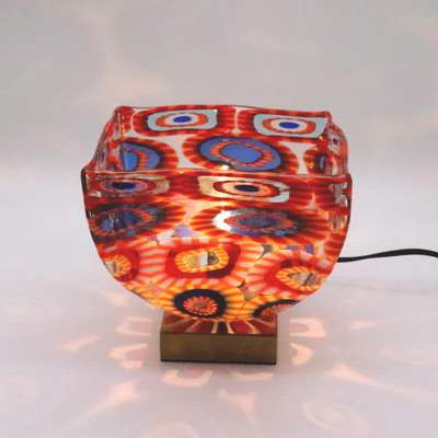 ベネチアングラステーブルランプ 034-ellm1
