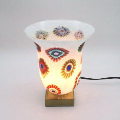 ベネチアングラステーブルランプ 034-elsm4