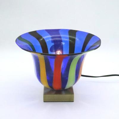 ベネチアングラステーブルランプ 034-eltz5b
