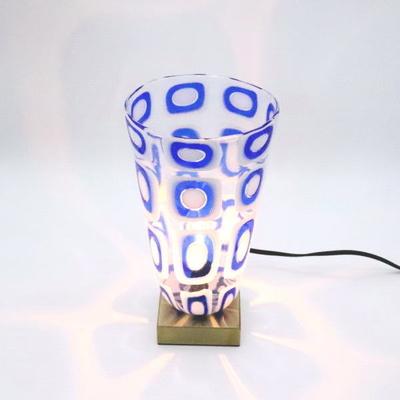 ベネチアングラステーブルランプ 034-smk10