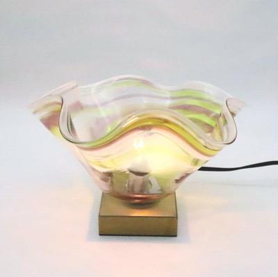 琉球ガラステーブルライト 034-ryukyu8s