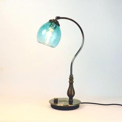 no9・Azzurro Glass Studioテーブルライト fc-570a-frit-tourmaline-no9
