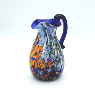 花瓶・flower base diec12blue