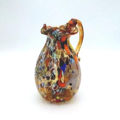 花瓶・flower base diec12amber-B