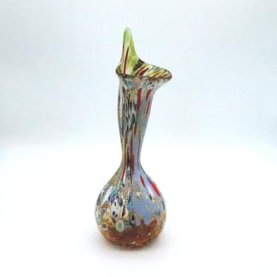 花瓶・flower base diec5amber-B