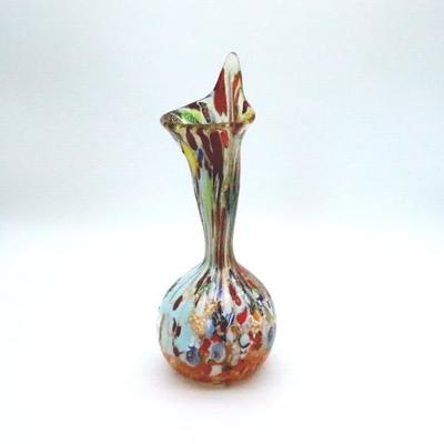 花瓶・flower base diec5amber-A
