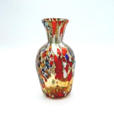 花瓶・flower base diec13amber-B