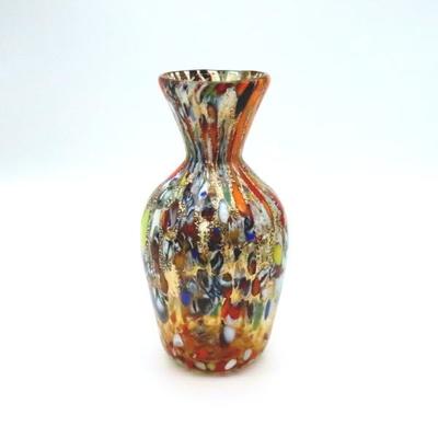 花瓶・flower base diec13amber-A