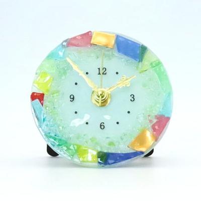 ベネチアングラス置時計 品番.pelt01-80-t