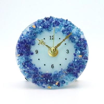 ベネチアングラス置時計 品番.pelt01-86t
