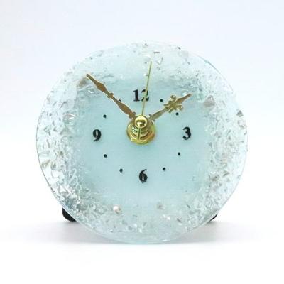 ベネチアングラス置時計 品番.pelt01-91t