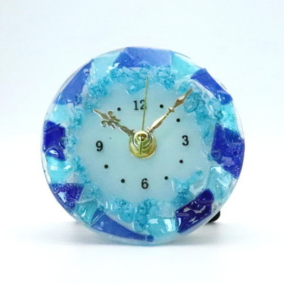 ベネチアングラス置時計 品番.pelt01-89t