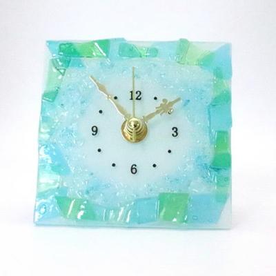 ベネチアングラス置時計 品番.pelt01-90-q