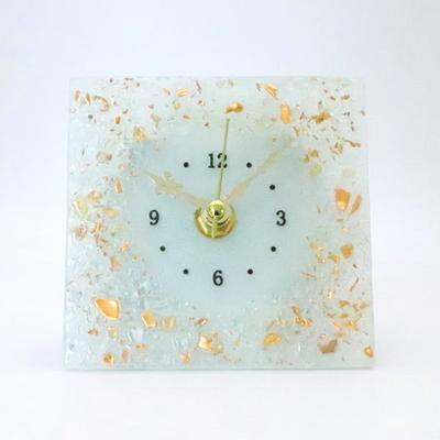 ベネチアングラス置時計 品番.pelt01-82q