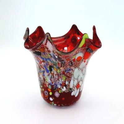 花瓶・flower base  品番.diec8red