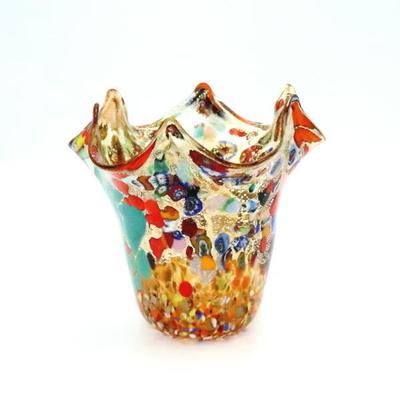花瓶・flower base diec8amber