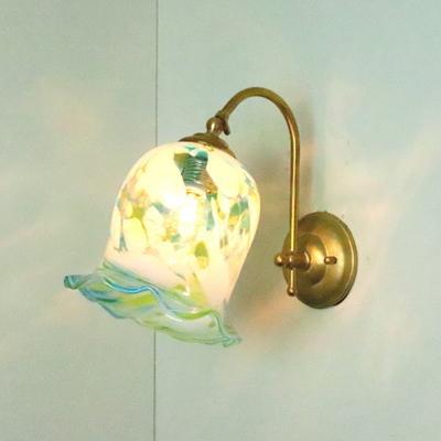 琉球ガラスブラケットランプ fc-w208-ryukyu6s