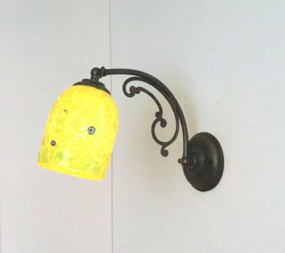 ベネチアングラスブラケットランプ fc-w10ay-pasta2-lightgreen