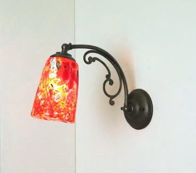 ベネチアングラスブラケットランプ fc-w10ay-monet-orange