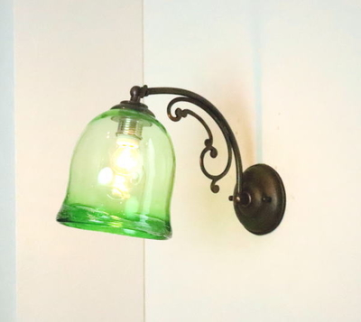 琉球ガラスブラケットランプ fc-w10ay-ryukyu13s