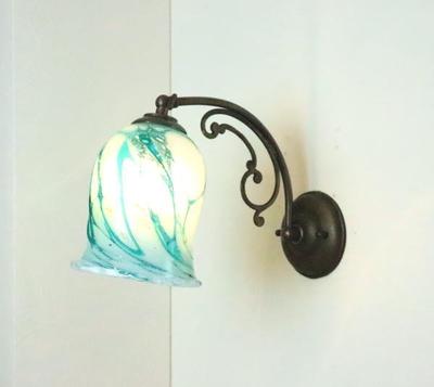 琉球ガラスブラケットランプ fc-w10ay-ryukyu11s
