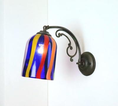 ベネチアングラスブラケットランプ fc-w10ay-eltz2
