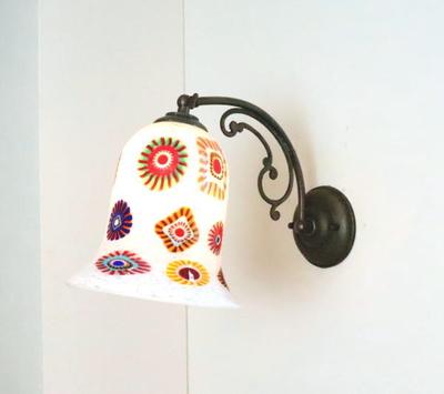 ベネチアングラスブラケットランプ fc-w10ay-elsm4