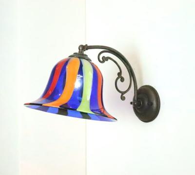 ベネチアングラスブラケットランプ fc-w10ay-eltz5