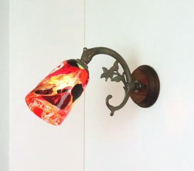 ベネチアングラスブラケットランプ fc-ww621-monet-multi