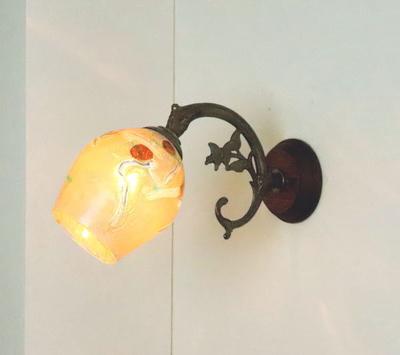 ベネチアングラスブラケットランプ fc-ww621-muzz-no4a
