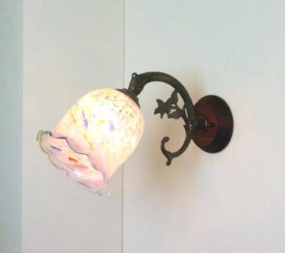 琉球ガラスブラケットランプ fc-ww621-ryukyu18s