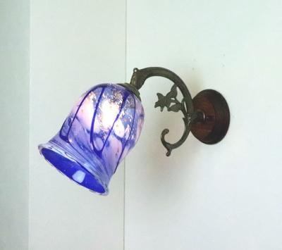 琉球ガラスブラケットランプ fc-ww621-ryukyu17s