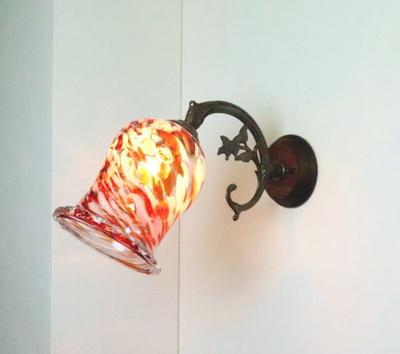 琉球ガラスブラケットランプ fc-ww621-ryukyu16s