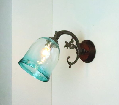 琉球ガラスブラケットランプ fc-ww621-ryukyu12s