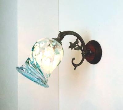 琉球ガラスブラケットランプ fc-ww621-ryukyu10s