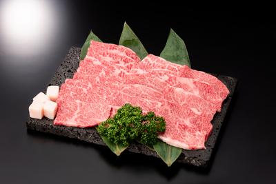 雪降り和牛 カルビ焼肉用(バラ) 500g 送料無料