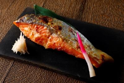 鮭西京漬3切