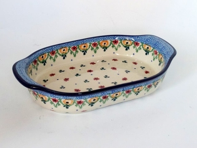 ポーランド小 グラタン皿 電子レンジ/オーブン/食洗器対応/ALEGRE