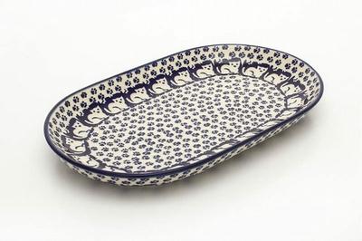 ポーランド楕円皿/長皿/オーバルプレート 電子レンジ/オーブン/食洗器対応/ALEGR