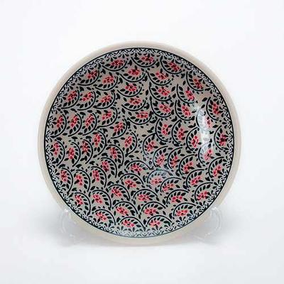 ポーランド中皿19cm プレート 電子レンジ/オーブン/食洗器対応/ALEGRE