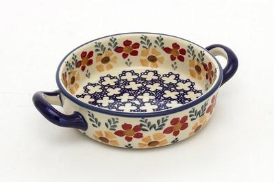 ポーランドグラタン皿 持ち手あり 電子レンジ/オーブン/食洗器対応/ALEGRE