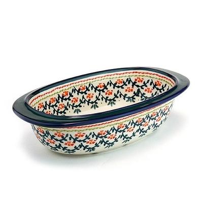 ポーランドグラタン皿/オーバル 電子レンジ/オーブン/食洗器対応/ALEGRE