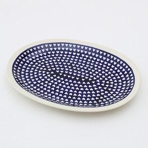 ポーランド 楕円皿 電子レンジ/オーブン/食洗器対応/ALEGRE